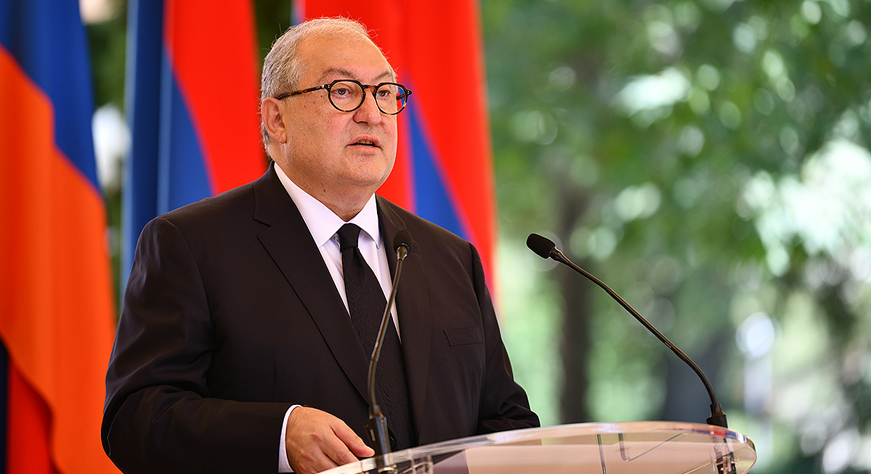 President of the Republic Armen Aarkissian's speech at the ceremony of endowing with state awards on the independence day